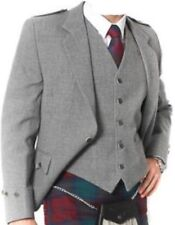 Argyle Blazer kilt Jacket & Waistcoat/Vest, Scottish Argyle Jacket Blend Wool