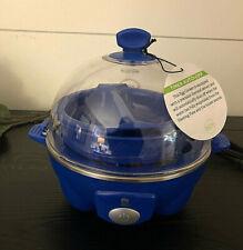 MCM Rapid Blue Egg Cooker -  Cooks 6 Eggs w/Omelette Bowl/Poacher Tray