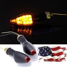 2 X SMOKE LED TURN SIGNALS BLINKER INDICATOR LIGHT FOR YAMAHA YZF R1 R6 R3 FZ6R