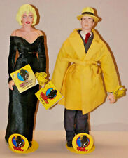 Dick Tracy & Breathless Mahoney Figures Dolls by Applause nwt