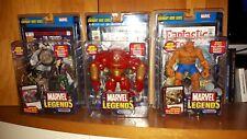 Marvel Legends Legendary Rider Series - lot of 3 MIP Hulk Buster