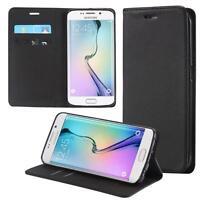 Custodia per Samsung Galaxy S6 Edge SM-G925F Cover Case Portafoglio Wallet Etui