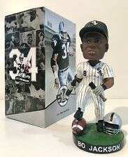 NEW Bo Jackson Chicago White Sox Oakland Raiders Bobblehead Limited With #Card