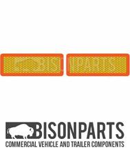 + Camion e Rimorchio tipo 6 & 7 ECE posteriore Marker TAVOLE IN ALLUMINIO COPPIA BP76-124