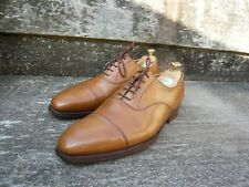 CROCKETT & JONES OXFORD – BROWN / TAN – UK 10 – HALLAM - EXCELLENT CONDITION