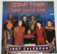 Star Trek: Deep Space Nine 1997 Calendar New Sealed Vintage