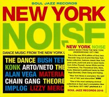 New York Noise CD (Dance Music From The New York Underground 1977-1982) SJRCD328