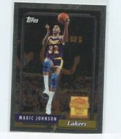 MAGIC JOHNSON 2000-01 Topps Chrome Commemorative Series #MJ10 Los Angeles Lakers