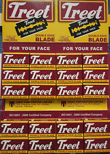 100 TREET DOUBLE Edge Rasoio per £ 7.49