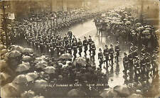 York Military Sunday April 30th 1905 # 279 by C & A. Soldiers Marching. Rain.