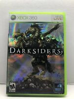 Darksiders (Microsoft Xbox 360, 2010) Complete w/ Manual - Tested Working