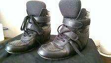 Junya Watanabe Wedge Sneakers Black