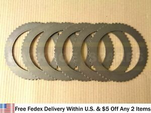 CASE PARTS - STEEL POWER SHUTTLE FORWARD CLUTCH DISC, SET OF 6 (D50083)