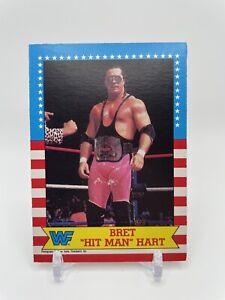 1987 O-Pee-Chee Bret Hitman Hart Rookie Card OPC WWF WWE RC not Topps *READ*