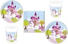 Einhorn Set de Fête Serviettes table plaque tasses vaisselles Licorne