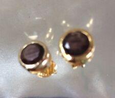 2ct Zawadi Golden Sheen Sapphire Earrings Stud 14k Gold on Sterling Silver