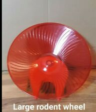 New listing Large Rodent Wheel for Rats, Chinchillas or any small rodent