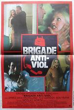 Affiche 40x60cm BRIGADE ANTI VIOL - DON'T ANSWER THE PHONE! 1979 Robert Hammer