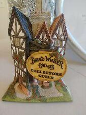 David Winter Cottages Collectors Guild House Figurine