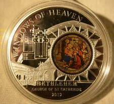 Cook 2012, Windows of Heaven, Church of St.Catherine - Bethlehem, 50 gr. Silver