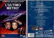L'ULTIMO METRO' (Francois Truffaut) - DVD NUOVO E SIGILLATO, PRIMA STAMPA