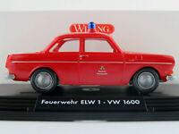 "Wiking 76302 VW 1600 Limousine (1969) ""Berliner Feuerwehr / ELW 1"" 1:40 NEU/OVP"