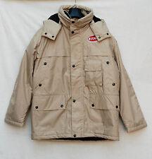 giacca giaccone ettore bugatti gilet EB cappotto coat jacket winter uomo beige M