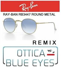 Occhiali da Sole RAYBAN ROUND METAL REMIX 3447 001/3F Sunglasses RAY BAN custom