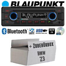 Autoradio für BMW Z3 Radio Blaupunkt Doha Bluetooth CD MP3 USB Einbauset