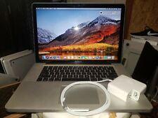 "MacBook Pro 15.4"" A1286  Core i7 2.66 GHZ , 2011, 4GB, 500 HDD ,MACOS high siera"