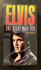 NEW & SEALED ELVIS PRESLEY ONE NIGHT WITH YOU VHS ROCK AND ROLL 68' SPECIAL