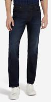 Mens Wrangler Arizona stretch straight fit jeans 'Dark fuzz' SECONDS WA123