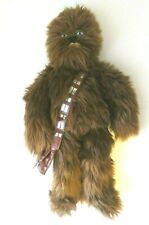 "Star Wars Disney Store 20"" Chewbacca Plush Stuffed Toy With Satchel"