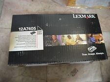 New ! High Yield GENUINE Lexmark E321 E323 Black Toner Printer 12A7405