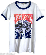 Junk Food Jefferson Airplane Psychedelic Soft Jersey Ringer T-shirt Runs Small