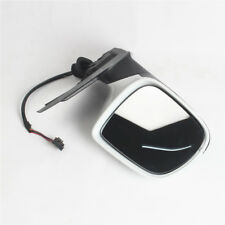 LH Left Driver Side Mirror W/ Heated Electric Foldable White For AUDI Q5 2009-15