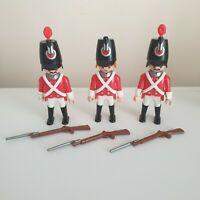 Playmobil 7675 English Red Coat Soldiers