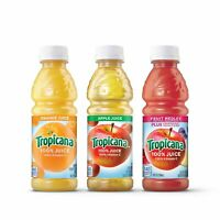 Tropicana 100% Juice 3-flavor Classic Variety Pack, 10 Ounce Bottles, 24 Count