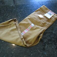 Carhartt Original Fit Sibley Cropped Pant New With Tags Size 12 Brown Jeans