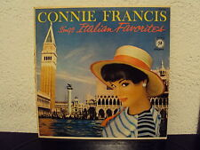 CONNIE FRANCIS - Sings italian favorites