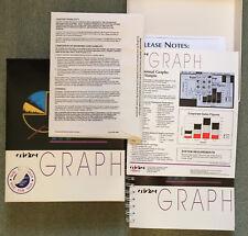 Gráfico de cricket 1.3.2 software demostración Sellado para Apple Macintosh Vintage por CA, Raro