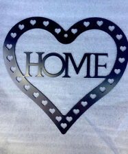 Heart & Home  - Metal Wall/Door Art