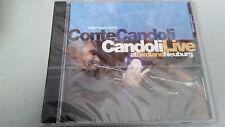 """CONTE CANDOLI """"CANDOLI LIVE"""" CD 6 TRACKS PRECINTADO NAGEL HEYER 2024"""