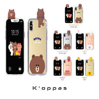Official Line Friends Mirror Bbakkom Phone Case Cover For Samsung Galaxy iPhone