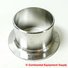 """3"""" SCH 10S Stub End Type A, A/SA403 WR W 316/316LW SPI MSS SP-43C A, Stainless"""