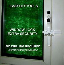 Cerradura de Ventana UPVC, seguridad adicional, Cerradura de ventana, Sash Jammer, PVC Jammer, sin taladro