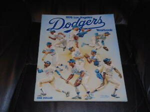 1978 LOS ANGELES DODGERS BASEBALL YEARBOOK TEAM COVER NR MINT