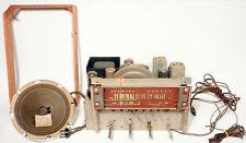vIntage STEWART-WARNER * TUBE RADIO:  Working Great - CHASSIS / SPEAKER / AERIAL