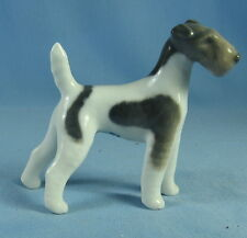 Royal Copenhagen Irish Scottish Terrier Vintage Porcelain Dog Figurine Mint