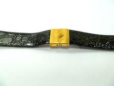 Markenlose Doppelfaltschließe Uhrenarmbänder aus Leder